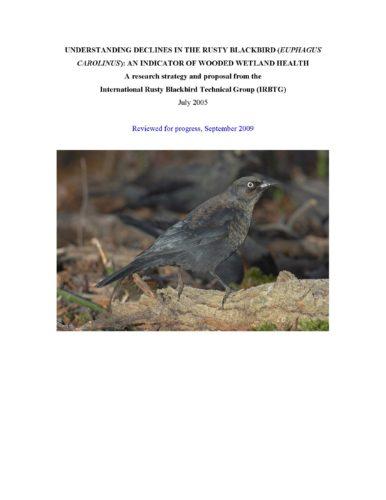 Understanding Declines of the Rusty Blackbird (2005)